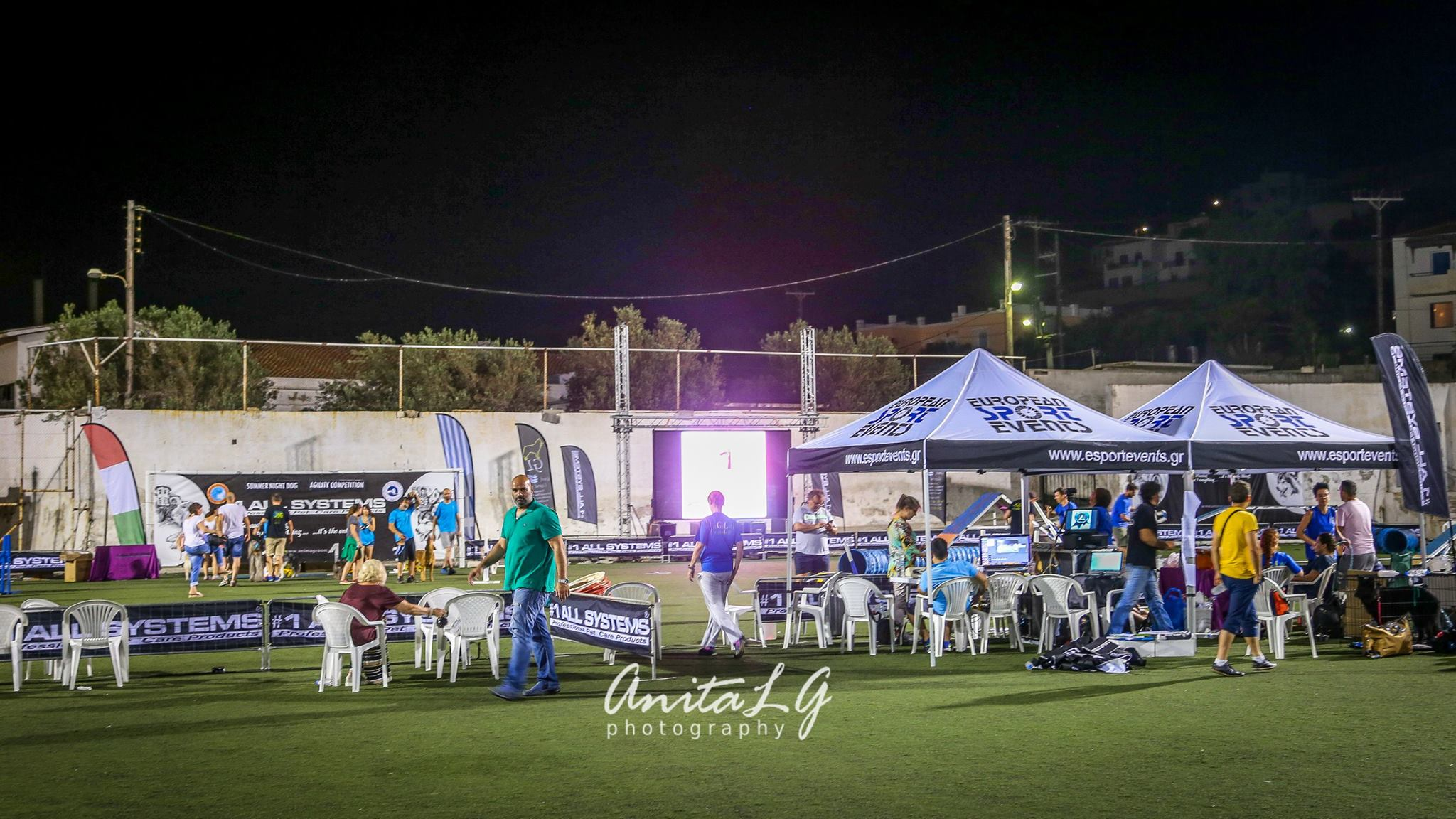 1st Summer Night Dog Agility Competition 2017